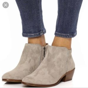 Sam Edelman Suede Petty Ankle Boot